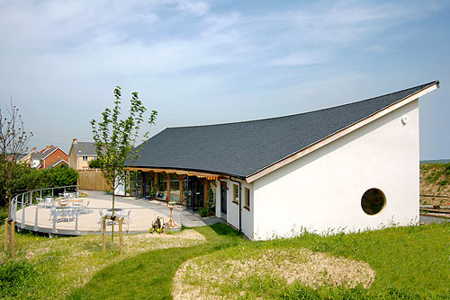 The Essex Wildlife Trust Visitor Centre at Chafford Gorges Nature Park