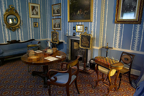 One of the room sets in the Geffrye Museum, Shoreditch, London