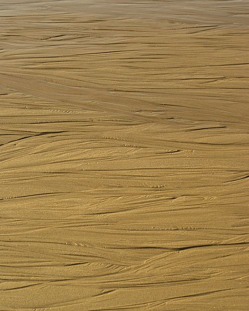 Sand patterns on the beach at Sea Palling, Norfolk