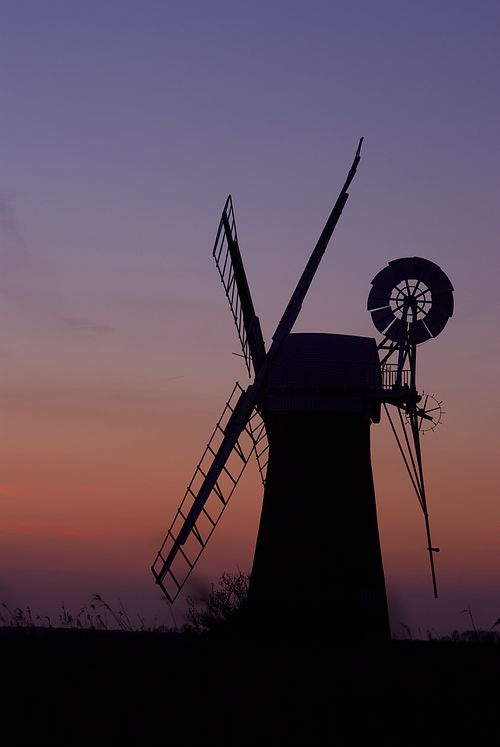 St. Benet's Wind Pump, near Thurne, Norfolk