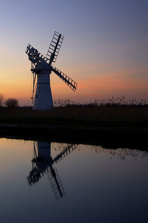 Thurne Wind Pump, Norfolk