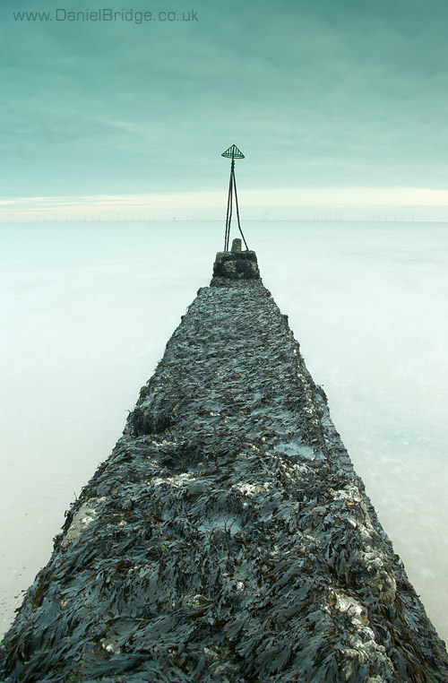 Groyne at Clacton Beach, November 2010
